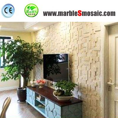Why Marble Mosaic TV Background Popular?
