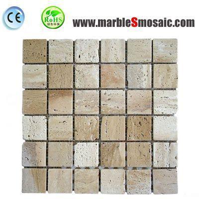 Travertine Mosaic Tile Vs Marble Mosaic