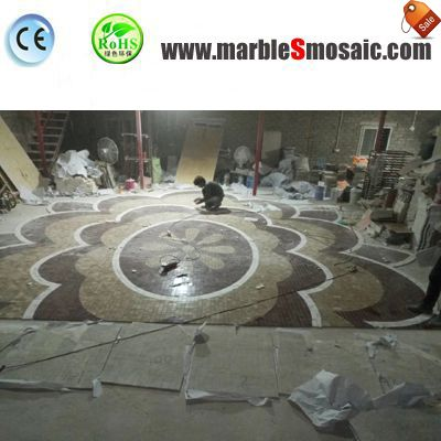 2018.04 Water Jet Marble Mosaic Tiles Export To S.A