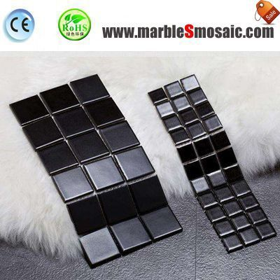 What Materials Suitable For Black Marble Mosaic Tile?
