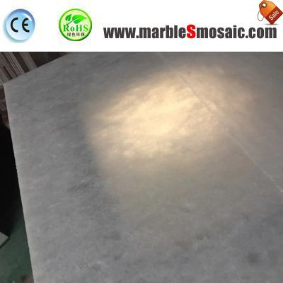 2018.04 Pure White Marble Tiles Export To USA