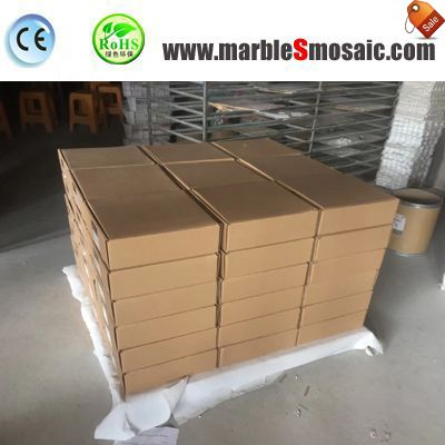 Популярные мраморная мозаичная плитка пакеты