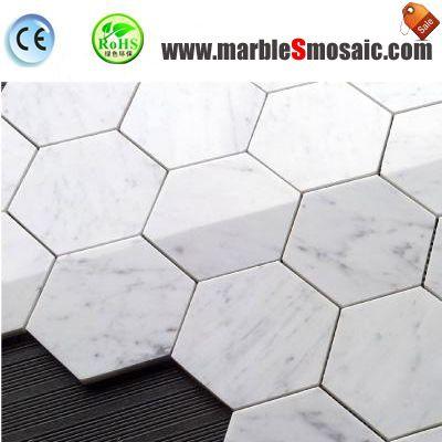 Why You Select Bianco Carrara Marble Mosaic Tile?