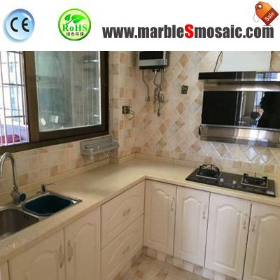 Kitchen Wall Use What Type Marble Mosaic