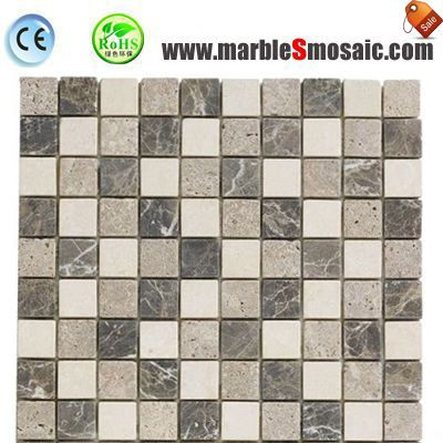 Bahthroom Indoor Wand Marmor-Mosaik