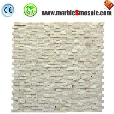 Бежевый Сплит поверхности каменной мозаики