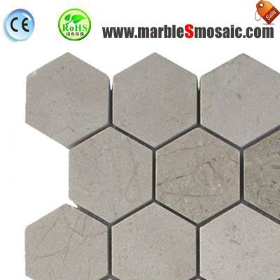 Cinderella Grey Marble Mosaic