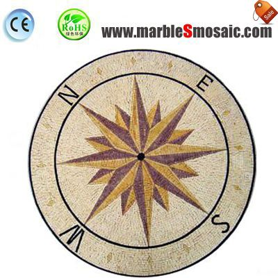 Direction Water Jet Marble Mosaic