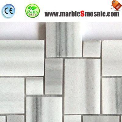 Marmala белая мраморная мозаика