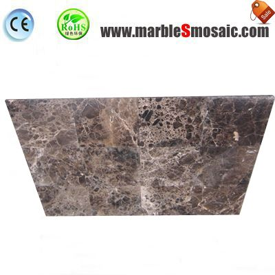 Thin Dark Emperador Marble Tile