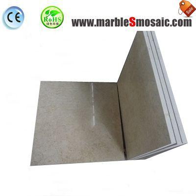 Thin Galala Beige Marble Tile