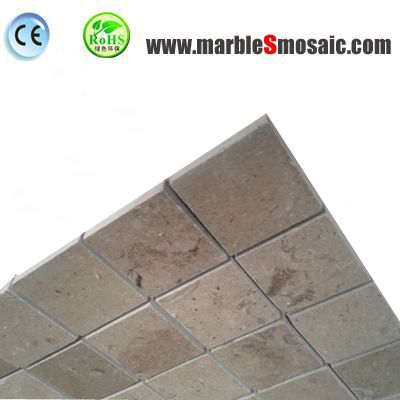 Мраморная мозаика водонепроницаемый бежевый квадрат