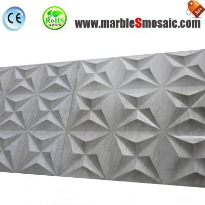 3D Stone Wall Mosaic Tile