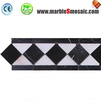 Bathroom Wall Marble Border Tile