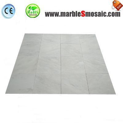 China Calacatta White Marble Tile