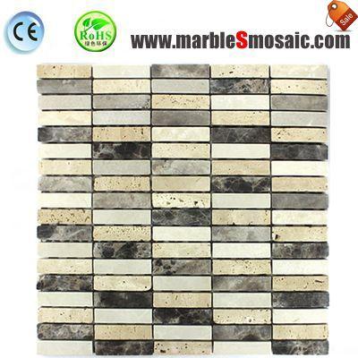 China Hand Cut Marble Mosaic Tile