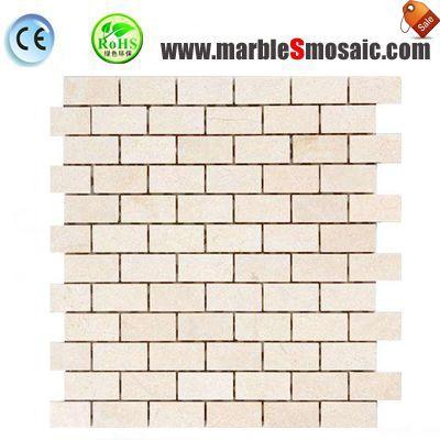 Crema бежевые стены мозаика