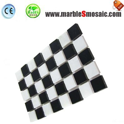 Cut Size Bricks Marble Mosaic Sheet
