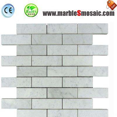 Eastern White Marble Strip Mosaic