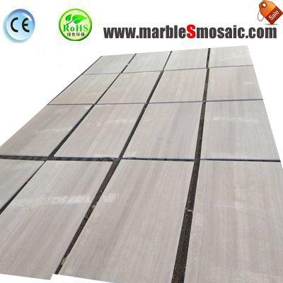 Гуйчжоу белая древесина мраморная плитка тонкие