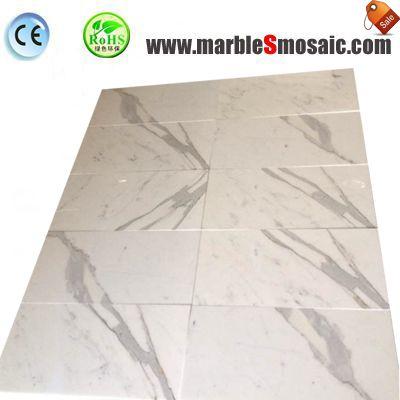Italy Snow White Marble Thin Tiles