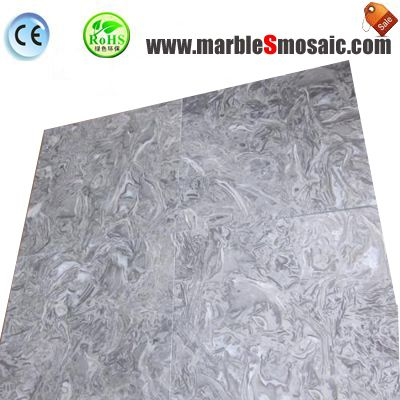 King Flower Grey Marble Wall Tile