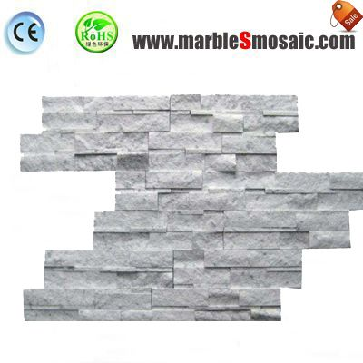 Natural Split Wall Marble Strip Mosaic