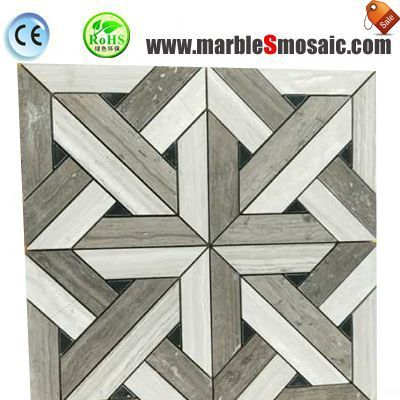 New Design Wooden Marble Mosaic