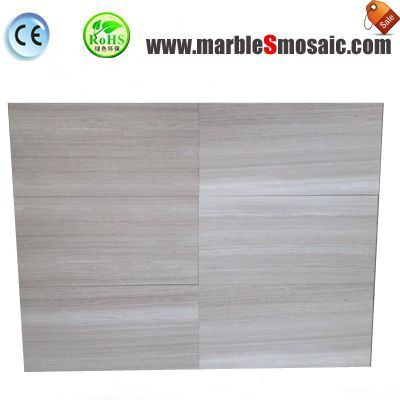 Wooden Grey Marble Floor Tile