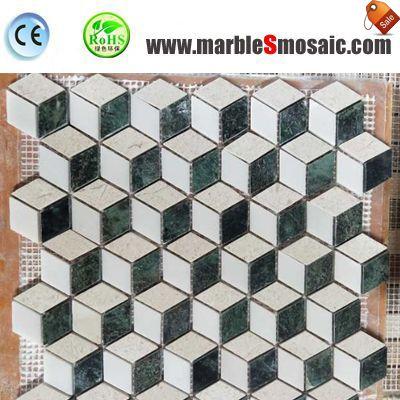 3D Bathroom Mosaic Shower Tiles