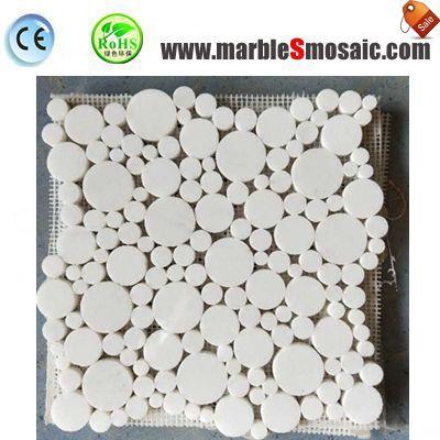 Bad Blase Runde Marmor-Mosaik