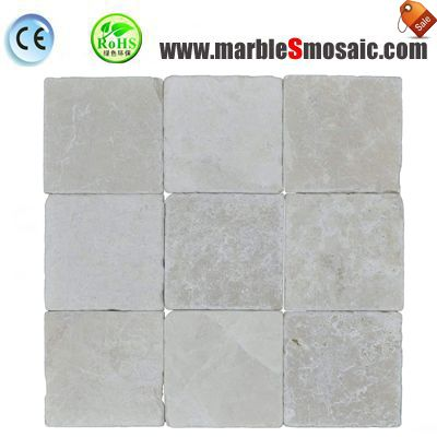 Botticino Marble Mosaic Tile Floor