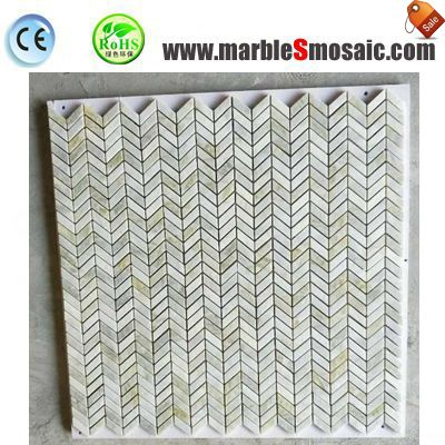 Chevron Marble Stone And Mosaic