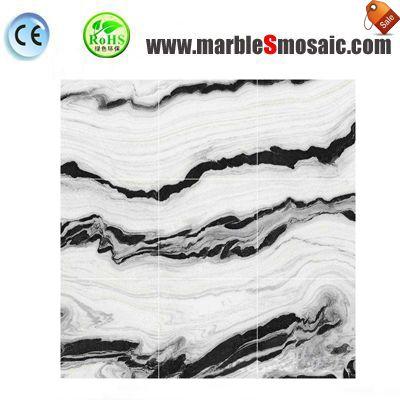 Panda White Marble Floor Tiles