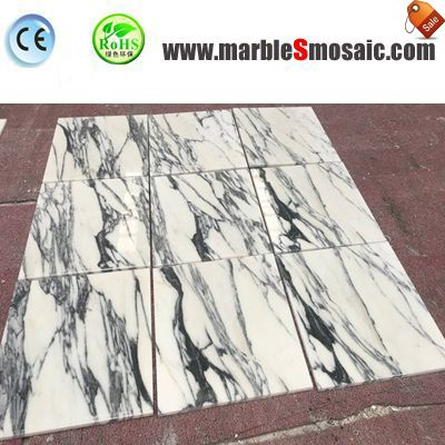 Polish Arabescato Marble Floor Tile