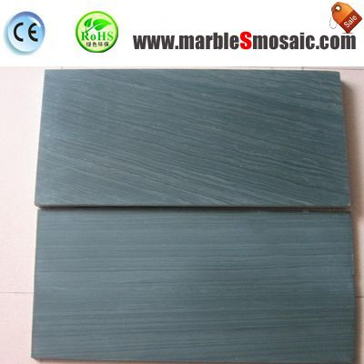 Wooden Green Marble Floor Tiles