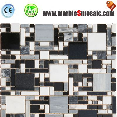 Bathroom Roman Wall Marble Mosaic