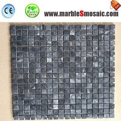 Blue Galaxy Marble Mosaic Bricks