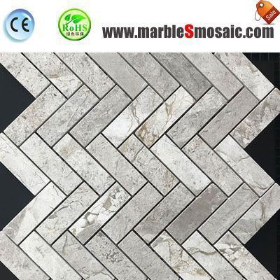Castle Gray Marble Mosaic Tile