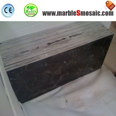 China Maron Dark Marble Tile