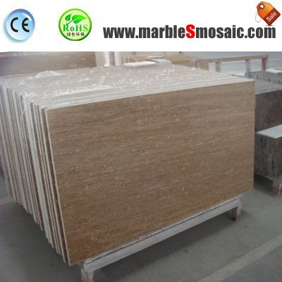 Coffee Travertine Floor Tile