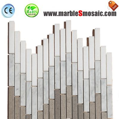 Musical Note Marble Mosaic Wall Tile
