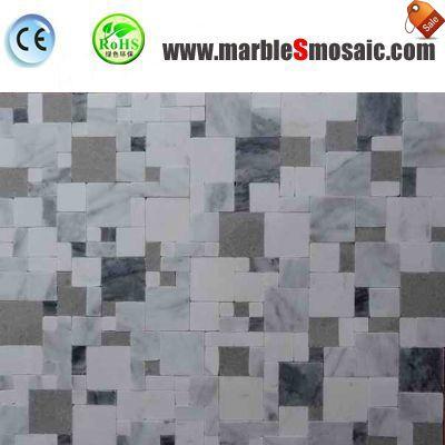 Roman Pattern Marble Mosaic Tile Floor