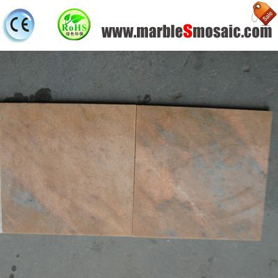 Sunset Red Marble Tiles Floor