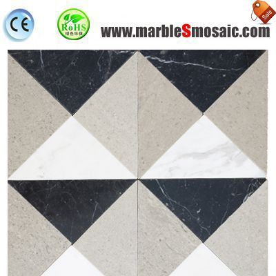 Bathroom Body Marble Mosaic Tile Floor