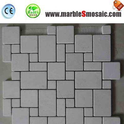 Beige Marble Stone Mosaic Tiles
