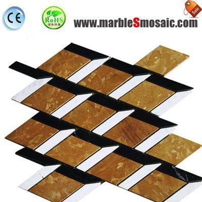 Mosaic Marble Flooring Stair Tile