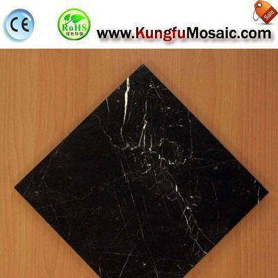 Black Marble Floor Tile Usage