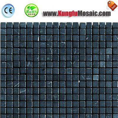 Темно зеленый Верде мрамор мозаика площади MSM0022