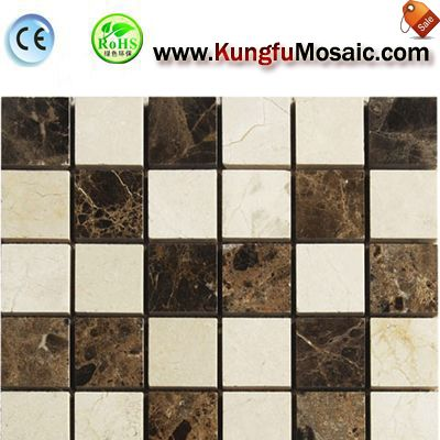 Brick Marble Mosaic Bathroom Tiles